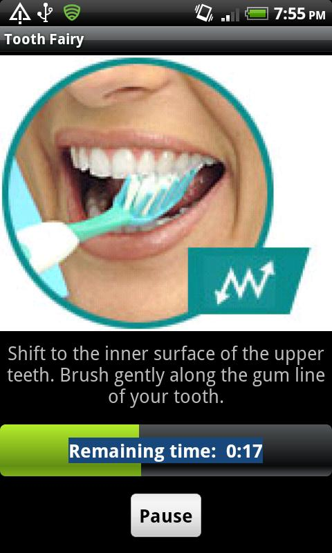 Tooth Fairy - a brushing timer - screenshot