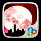 Pink Moon Theme GO LAUNCHER EX