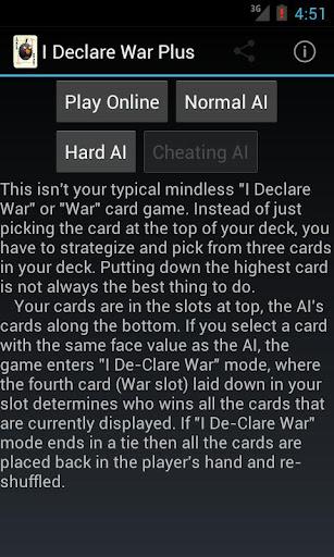I Declare War Plus