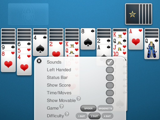 Spider Solitaire 1.3.4.24 screenshots 10
