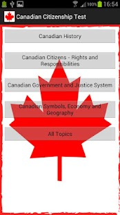 Canadian Citizenship Test- screenshot thumbnail