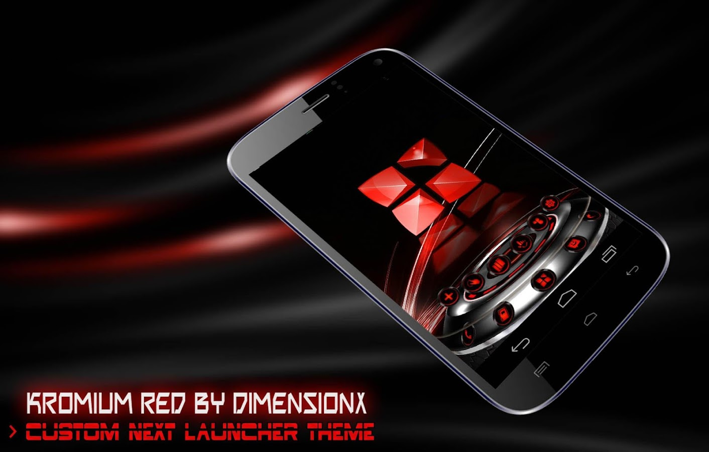 Kromium Red Theme icon pack- screenshot