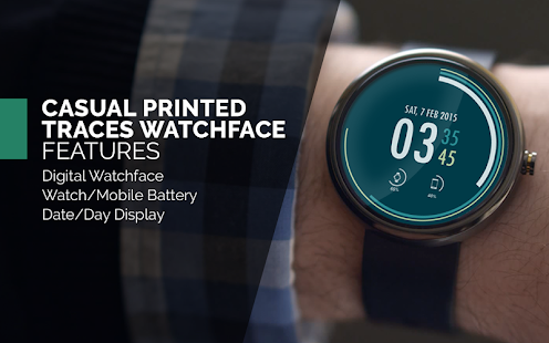 Casual Printed Watch Face Free- screenshot thumbnail