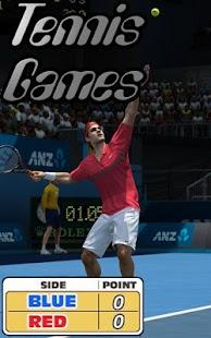 Tennis Games- screenshot thumbnail