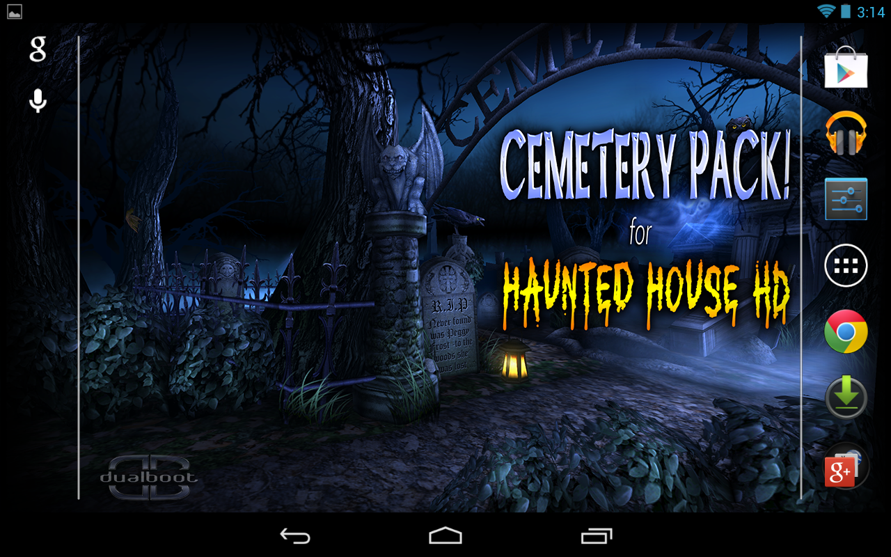haunted house live wallpaper apk
