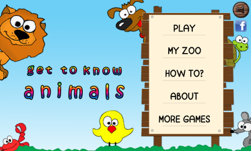 Get to know animals for kids