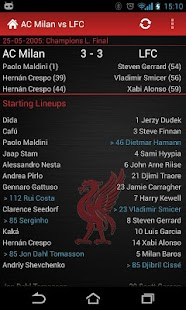LFC History: Liverpool FC - screenshot thumbnail