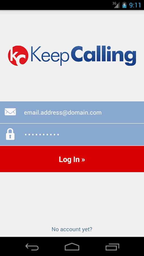 KeepCalling – Best Calling App - screenshot