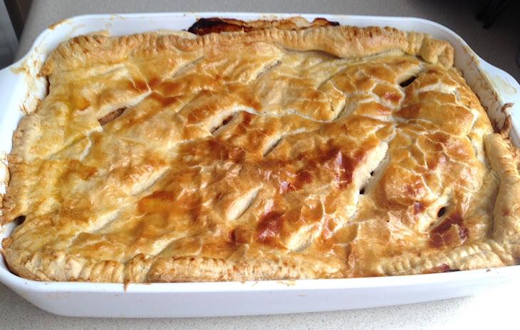 Puffed Pastry Tuna Bake Recipe