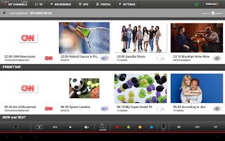 Screenshot of Finlux Smart Center