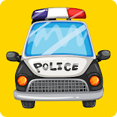 Police Car Siren and Lights