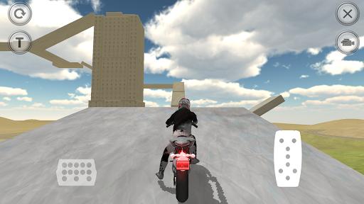 Skyscraper Climb Motorbike