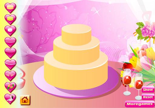 เกมส์แต่งหน้าเค้ก วันแต่งงาน