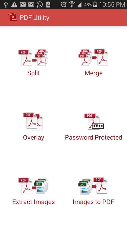 PDF Utility - Lite- screenshot