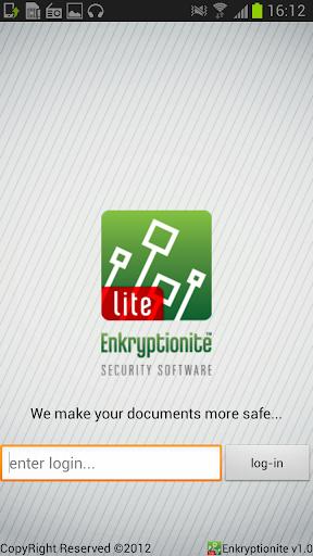 Enkryptionite Lite