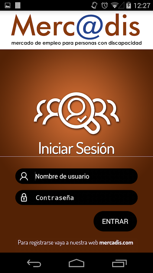 MERCADIS APP- screenshot