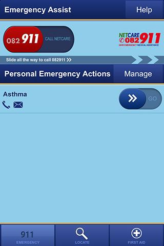 Netcare Assist - screenshot