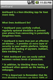 AndGuard Pro (w/ Iptables) - screenshot thumbnail