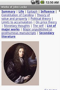 Works of John Locke- screenshot thumbnail