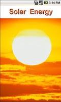 Screenshot of Solar Energy