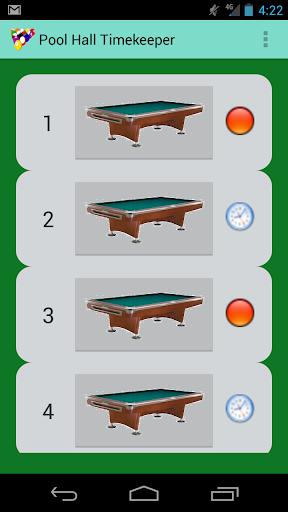 Pool Hall Timekeeper