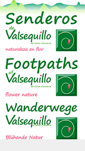 Footpaths of Valsequillo- screenshot thumbnail