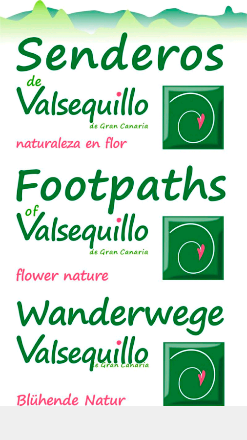 Footpaths of Valsequillo- screenshot