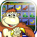 Crazy Monkey slot machine logo