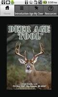 Screenshot of Deer Age Tool