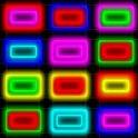 Neon Puzzle Down icon