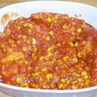 Tomato Sauce Corn Chicken