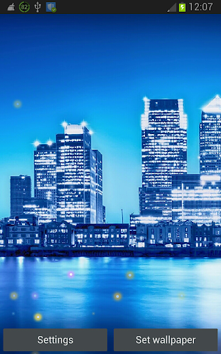 Blue City Live Wallpapers