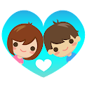 爱比特 - 恋爱中的情侣专用 icon