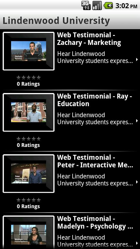 LindenwoodU - screenshot