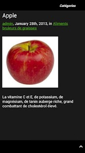 Aliments Brûle Graisse - screenshot thumbnail