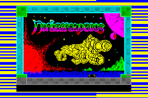 Screenshot of ZX screen$