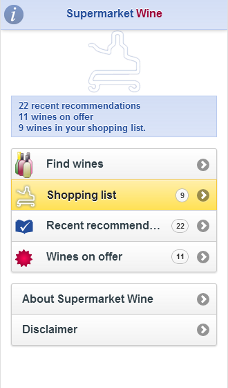 Supermarket Wine- screenshot