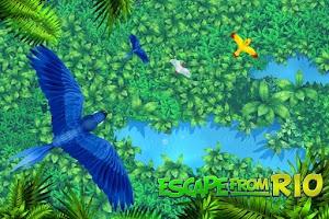 Screenshot of Escape from Rio - Blue Birds