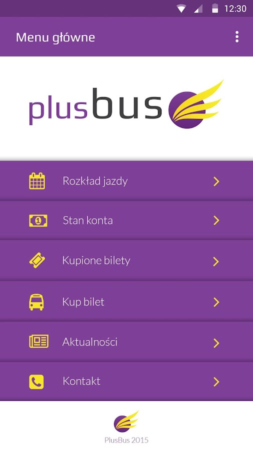 PlusBus- screenshot