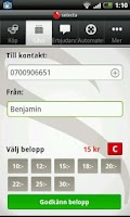 Screenshot of Selecta köpapp