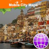 Varanasi Street Map
