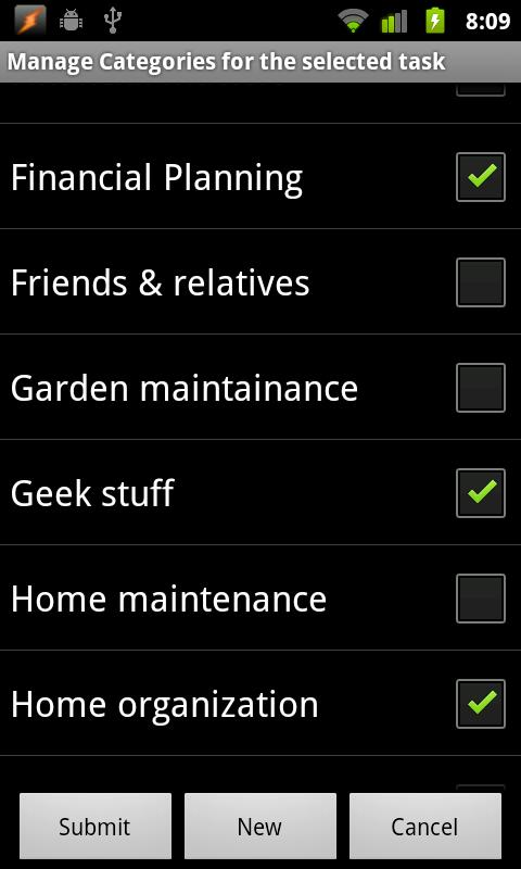 TaskMantra To-do List - screenshot