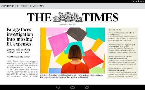 The Times & Sunday Times News - screenshot thumbnail