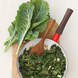 Sauteed Collard Greens with Garlic.