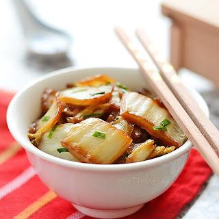 Napa Cabbage Stir Fry Recipe