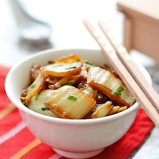 Napa Cabbage Stir Fry.