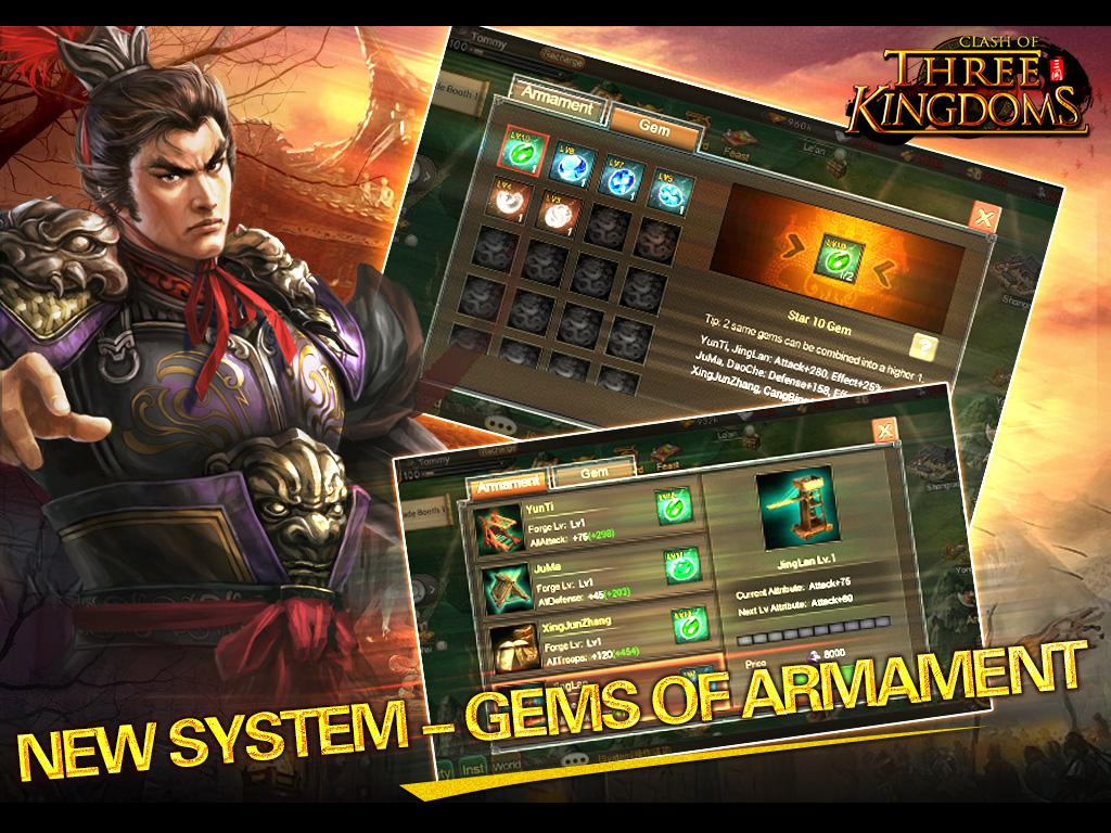 Clash of Three Kingdoms - screenshot
