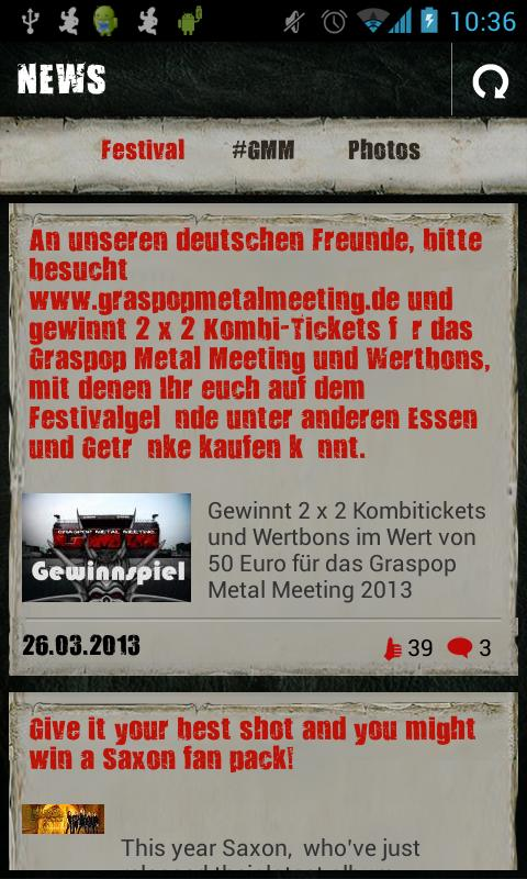 Graspop Metal Meeting - screenshot
