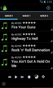 BullseyeDroid Music Player- screenshot thumbnail