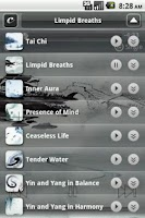 Screenshot of Calming Music to Simplicity